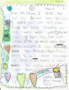 Kid's letter 2