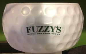 Fuzzy napkin holder
