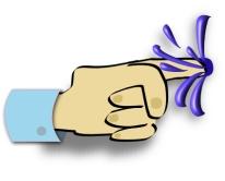 finger in dike